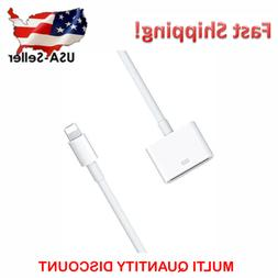 Lightning to 30-pin Adapter Charging/Data Cable for APPLE iP