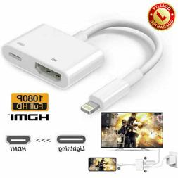 Lightning To HDMI Cable Digital AV TV Adapter For iPhone 11