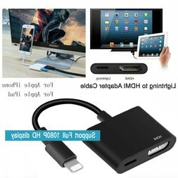 Lightning To HDMI Cable Digital AV TV Adapter For iPad iPhon