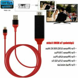 lightning to hdmi digital av tv cable