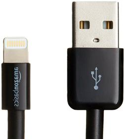 AmazonBasics Lightning to USB A Cable - Apple MFi Certified,