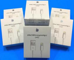 Genuine OEM Original Apple Lightning USB Charger 2m Cable IP