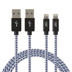 CableCreation 2-PACK Lightning to USB Data Sync Cable for i