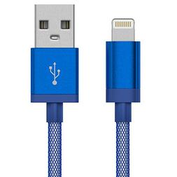 Just Wireless Lightning Cable  Nylon Mesh iPhone Charger Cab