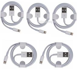 Lot 6FT Genuine Original OEM Apple Lightning USB Charger Cab