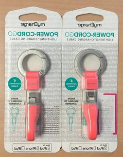 Lightning Charging Cable Keychain PowerCord Go by MyCharge P