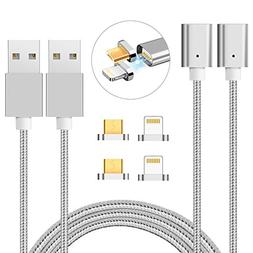 Zrse Magnetic Charging Cable Micro USB  Magnetic Lightning c