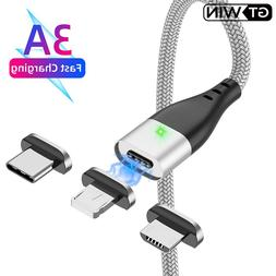 GTWIN Magnetic Micro USB <font><b>Cable</b></font> Fast Char