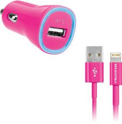 Merkury Mi-Cca21-675 2.1A Car Charger W/3FT Cable Accessorie