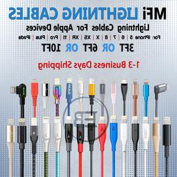 MFi Lightning Cable 3FT 6FT 10FT For iPhone 5 6s 7 8 XS 11 P