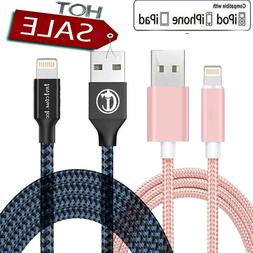 For iPhone Lightning Charger Cable For iPhone 5 6 7 8 Plus X