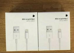 New Original Apple iPhone Lightning Cable 2m 6ft USB Chargin