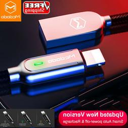 Newst Update MCDODO Smart Lightning Cable USB Fast Charger f
