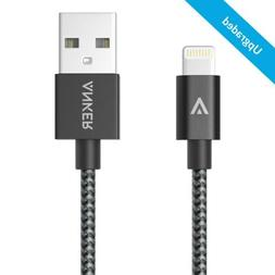 Anker 3ft Nylon Braided USB Cable with Lightning Connector f