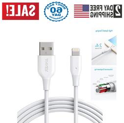 Anker PowerLine Lightning 6ft Apple MFi Certified Cable Char