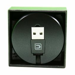 Retractable Lightning Cable, 2 in 1 iPhone Micro USB Fast Ch