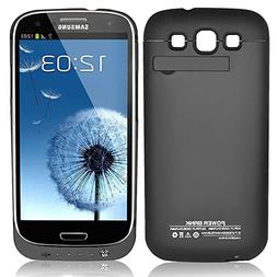 Zeox Samsung Galaxy S3 Rechargeable External Backup Battery