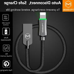 Mcdodo Smart Auto Disconnect Lightning USB Cable Charger iPh