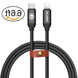 USB-C Type C to Lightning Cable, Metrans  USB Type C to Ligh