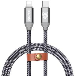 METRANS USB C to Lightning Cable 3FT for iPhone iPad Connec