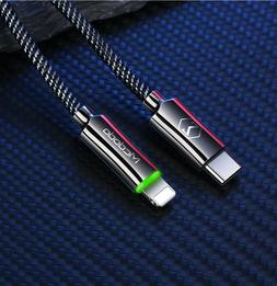 USB-C Type-C to Lightning PD Fast Charging Charger Cable Cor