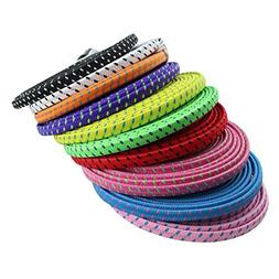 USB Charging Cable 10pcs/lot 1M/3FT Colorful Braided Nylon N