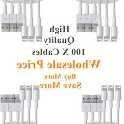 Wholesale Lot USB Lightning Charger Data Sync Cable Lead For